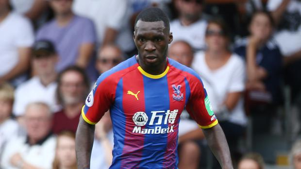 Christian Benteke is recovering after minor surgery on his knee. (Yui Mok/PA Images)