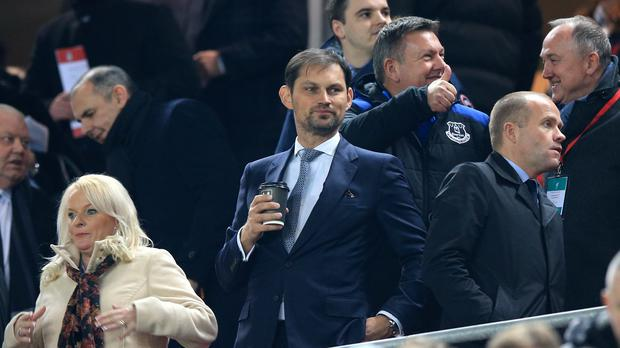 Sasha Ryazantsev is excited about Everton's new stadium project (Peter Byrne/PA)
