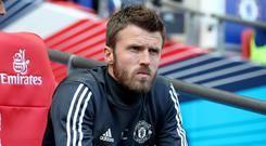 Michael Carrick is now an assistant coach at Manchester United (Nick Potts/PA)