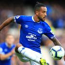 Everton winger Theo Walcott believes a top-six finish is achievable this season (Peter Byrne/PA).