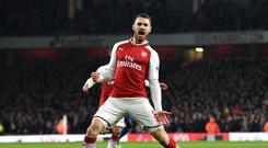 Aaron Ramsey looks set to leave Arsenal at the end of the season after the collapse of contract talks (Victoria Jones/PA)
