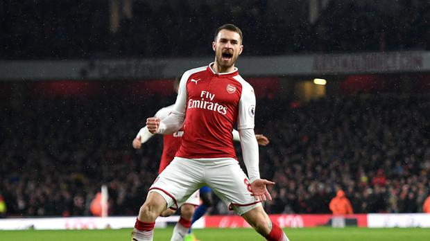 1022563c37d Aaron Ramsey looks set to leave Arsenal at the end of the season after the  collapse