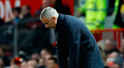 Manchester United's recent victory over Newcastle bought José Mourinho some breathing space, but he has a tough run of fixtures coming up. Photo: PA