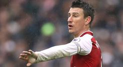 Arsenal's Laurent Koscielny has confirmed his retirement from France duty (John Walton/PA Images)
