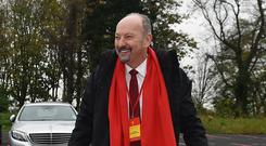 Chief executive Peter Moore believes Liverpool are back where they belong (Liverpool Football Club/PA)