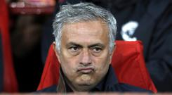 Manchester United boss Jose Mourinho has had many brushes with authority over the years (Martin Rickett/PA)