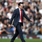 Arsenal manager Unai Emery thinks there is still a lot of room for improvement despite a good start to the season (John Walton/PA)