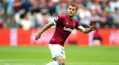 Jack Wilshere underwent surgery in September (Nigel French/PA)