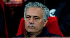 Jose Mourinho will be on the touchline for Manchester United's clash with Chelsea (Martin Rickett/PA)