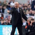 Newcastle manager Rafael Benitez has issued a defiant message to Brighton (Owen Humphreys/PA)
