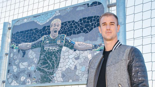 Joe Hart has been honoured by Manchester City (Manchester City Football Club)