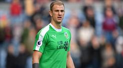 Former City goalkeeper Joe Hart returns to Manchester with new club Burnley on Saturday (Anthony Devlin/PA)