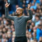 Pep Guardiola wants more from City (Martin Rickett/PA)