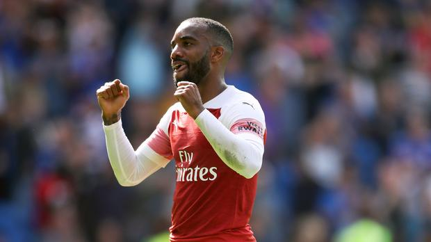 Alexandre Lacazette has scored 14 goals in his last 24 games for the Gunners (Nick Potts/PA)