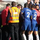 Players and staff from both sides were involved in unsavoury scenes by the tunnel at Stamford Bridge (Adam Davy/PA)