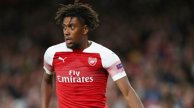 Alex Iwobi has impressed for Arsenal this season (Nick Potts/PA)