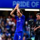 Marcos Alonso is sticking with Chelsea (Victoria Jones/PA)