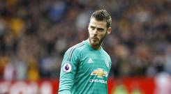 Manchester United goalkeeper David De Gea has established himself amongst the best in the world (Martin Rickett/PA)