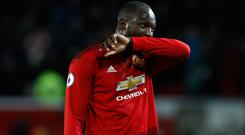 Romelu Lukaku has struggled in front of goal (Martin Rickett/PA)
