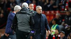 Manchester United manager Jose Mourinho has avoided an FA sanction (Martin Rickett/PA)