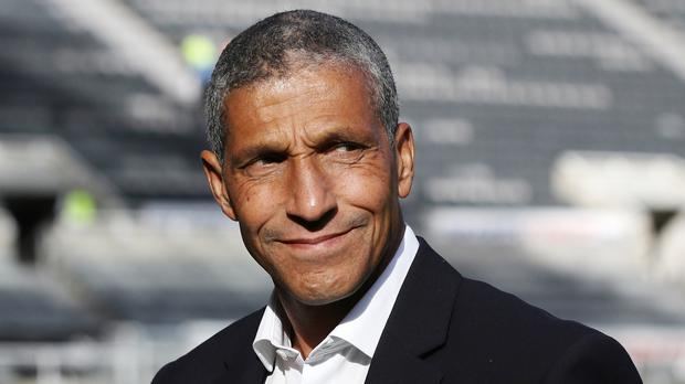Brighton boss Chris Hughton is not taking taking his side's recent winning form for granted (Owen Humphreys/PA)