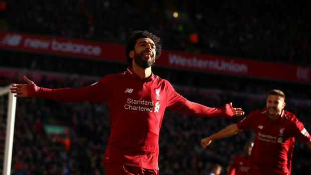 Mohamed Salah is fit to face Arsenal