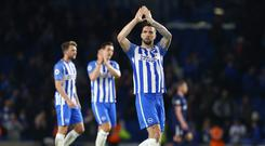 Shane Duffy has committed to Brighton until 2023 (Gareth Fuller/PA Images)