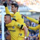 Chelsea's Ross Barkley, left, could feature against Crystal Palace (Mike Egerton/PA Images)