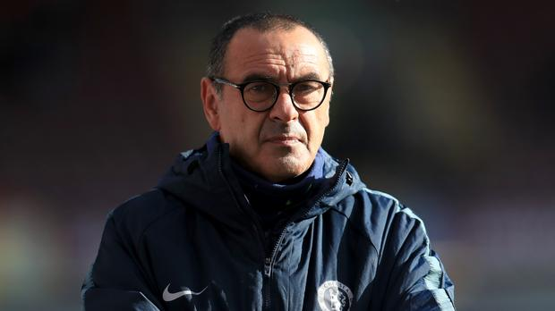 Maurizio Sarri has not even asked about a possible January transfer budget at Chelsea (Mike Egerton/PA)