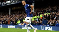 Richarlison scored twice in Everton's 3-1 win over Brighton (Martin Rickett/PA).