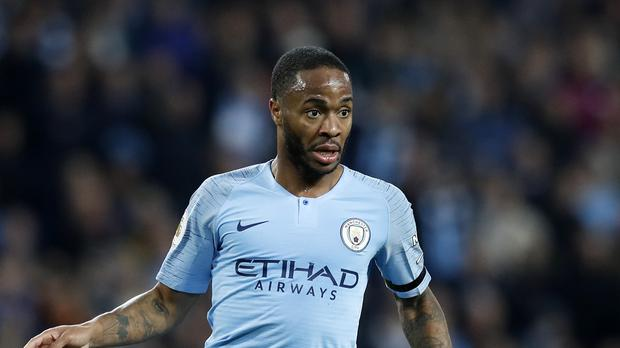 Manchester City's Raheem Sterling was outstanding in Sunday's thrashing of Southampton (Martin Rickett/PA)