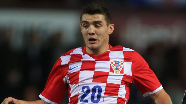 Mateo Kovacic is on loan at Chelsea from Real Madrid. Photo: PA
