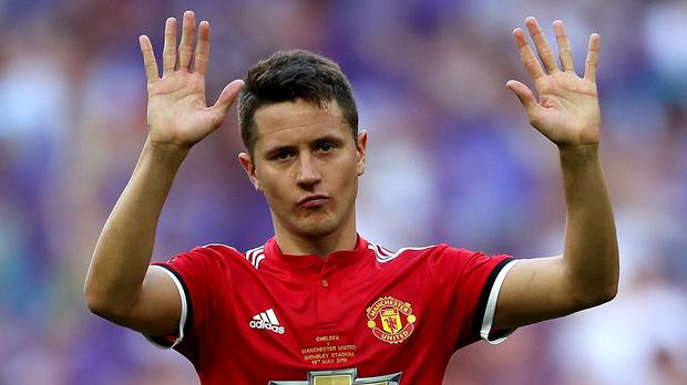 Ander Herrera wants United to build on the win in Turin (Nick Potts/PA)