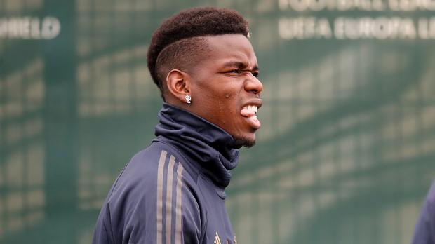 Paul Pogba sat out Manchester United's training session on Friday (Martin Rickett/PA)