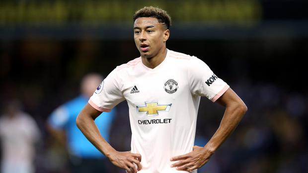 Jesse Lingard wants Manchester United to extend their strong record at the Etihad Stadium (Nigel French/PA)