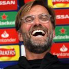 """Jurgen Klopp believes his Liverpool side have a """"wonderful perspective"""" after defeat in Belgrade (Richard Sellers/PA)"""