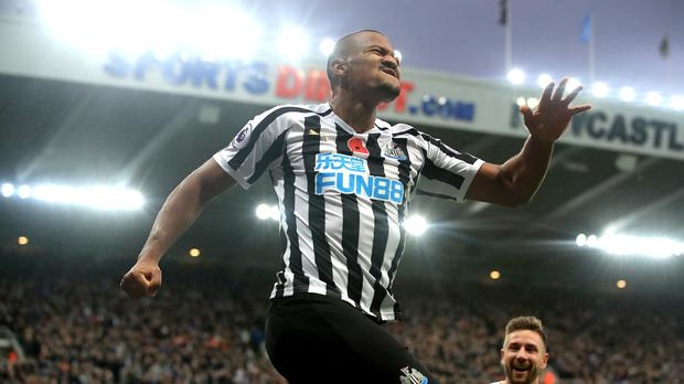 Salomon Rondon's goals gave Newcastle victory (Owen Humphreys/PA)
