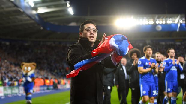 Aiyawatt Srivaddhanaprabha saluted the fans on Saturday (Joe Giddens/PA)