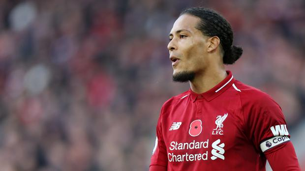 Virgil Van Dijk insists Liverpool cannot concern themselves with what Manchester City are doing (Barrington Coombes/PA)
