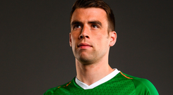 Ireland captain Seamus Coleman. Photo: Sportsfile