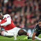 Danny Welbeck sustained a broken ankle during last week's Europa League clash with Sporting Lisbon (Nick Potts/PA)