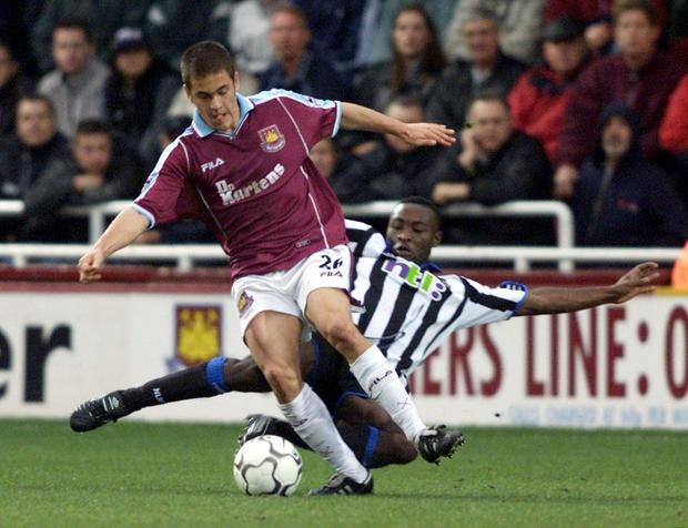 Joe Cole made his West Ham debut aged 17 (Tom Hevezi/PA)