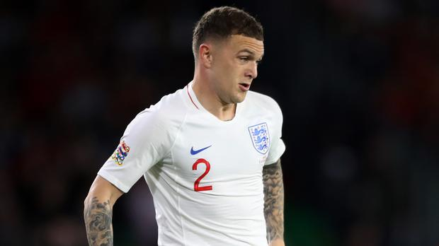Kieran Trippier has withdrawn from the England squad with a groin injury (Nick Potts/PA)