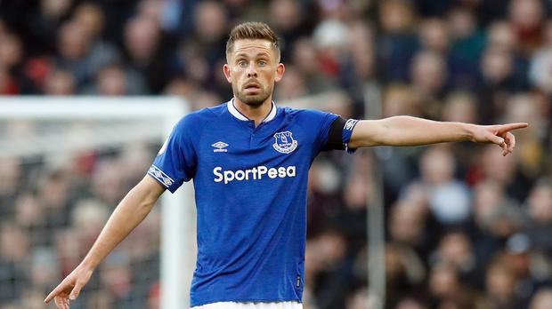 An ankle injury means Everton's Gylfi Sigurdsson will remain on Merseyside (Martin Rickett/PA)
