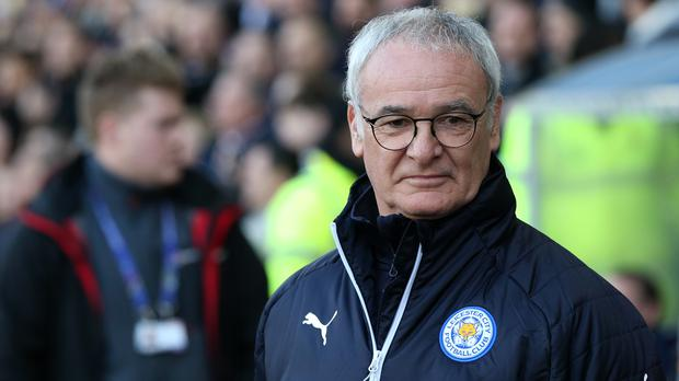 Former manager Chelsea and Leicester, Claudio Ranieri, were replacing