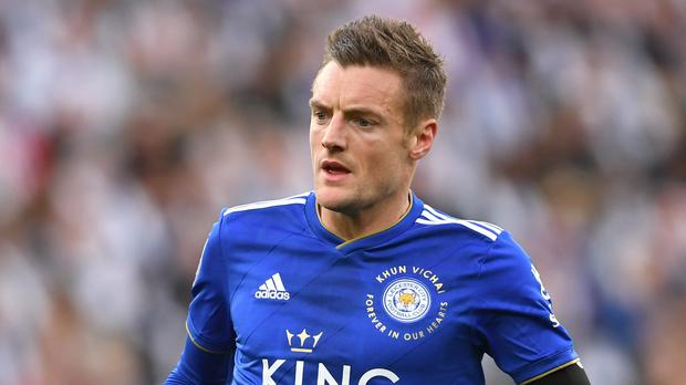 Leicester's Jamie Vardy wants to play on for a long time (Joe Giddens/PA)