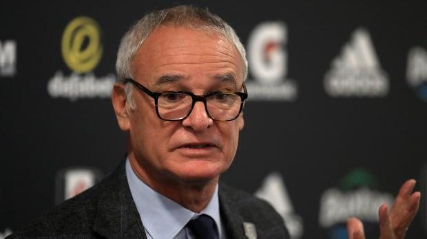 Claudio Ranieri plans to use burgers, not pizza, as an incentive for his Fulham players (Simon Cooper/PA Images)
