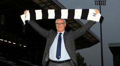 """Claudio Ranieri has agreed a """"multi-year"""" deal to manage Fulham (Simon Cooper/PA)"""