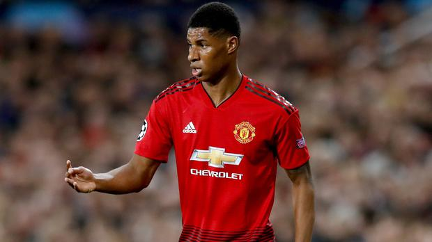Marcus Rashford has been linked with a move to Real Madrid (Martin Rickett/PA)