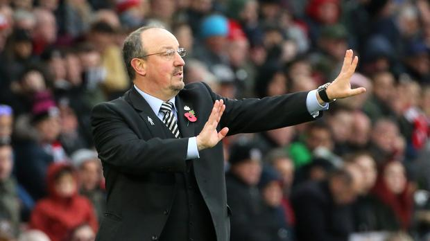 Newcastle United manager Rafael Benitez expects a difficult January transfer market (Mark Kerton/PA)